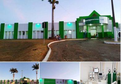 Em Formosa, Caiado visita hospital e vistoria obras de unidade de saúde.